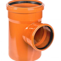 Тройник ПВХ для наружней канализации