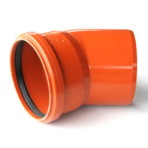 Колено для наружней канализации DN200x15