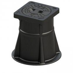 Лючек (капа) для задвижек, вентелей SUW-9