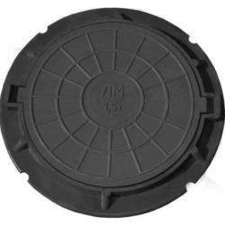 """юк полимер-песчаный тип """"ЛМ"""" (А 3 т) черный (750х576мм, H 55мм)"""
