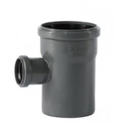 Тройник ПВХ для внутренней канализации DN110x50/90