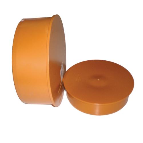 Заглушка ПВХ DN110 для наружной канализации