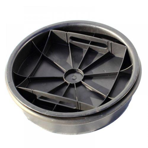 Дно-крышка для колодца DN315 черная