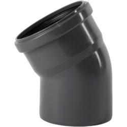 Колено ПВХ для внутренней канализации DN110x30