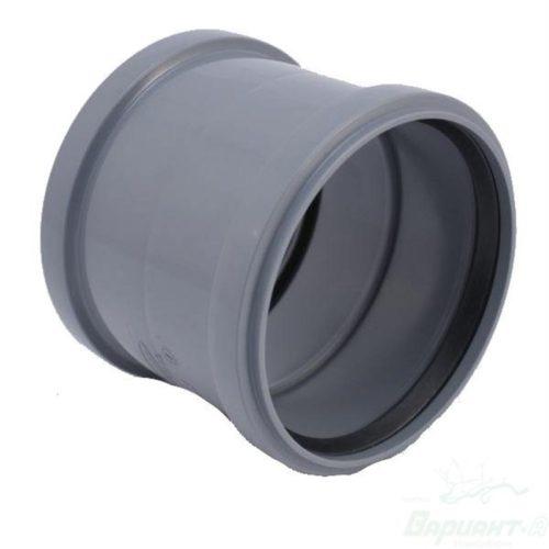 Муфта ПВХ DN110 для внутренней канализации